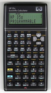 เครื่องคิดเลข HP35S