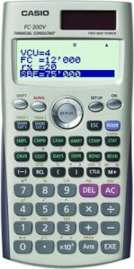 เครื่องคิดเลขทางการเงิน Casio FC-200V