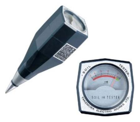 เครื่องวัดดิน (Soil Meter) รุ่น DM-13 แบรนด์ Takemura