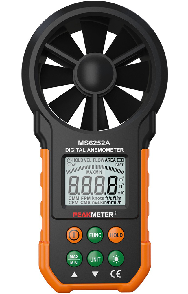 เครื่องวัดความเร็วลมรุ่น PM6252A