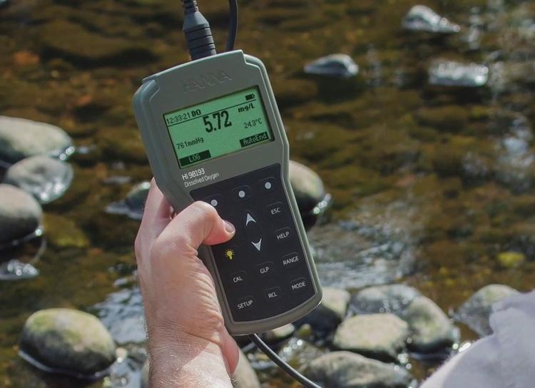 เครื่องวัด DO Meter HI98193