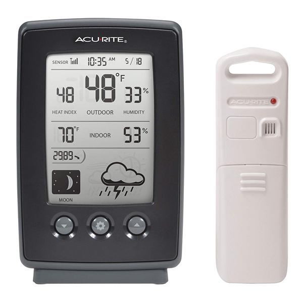 เครื่องวัดอุณหภูมิ AcuRite 00829