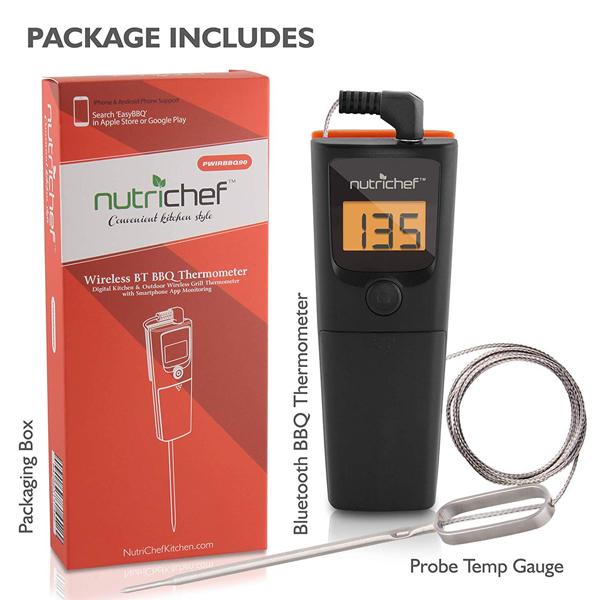 เครื่องวัดอุณหภูมิ NutriChef PWIRBBQ90